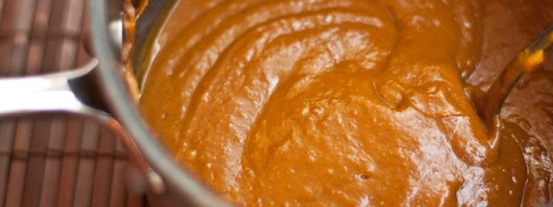 Pumpkin Butter in a Pot